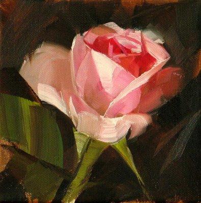 """""""Joy --- Sold"""" original fine art by Qiang Huang"""