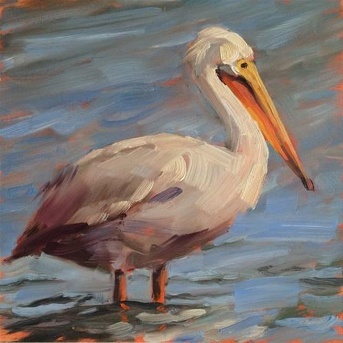 """Taking a Break"" original fine art by Deborah Newman"