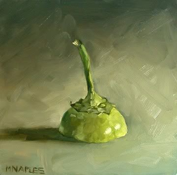 """Pepper Hat"" original fine art by Michael Naples"