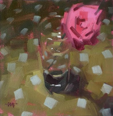 """""""A Rose by Any Other Name"""" original fine art by Carol Marine"""