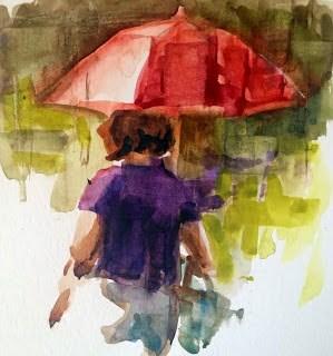 """""""untitled"""" original fine art by Julie Ford Oliver"""