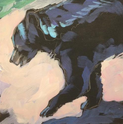 """Sunshine Bear"" original fine art by Kat Corrigan"