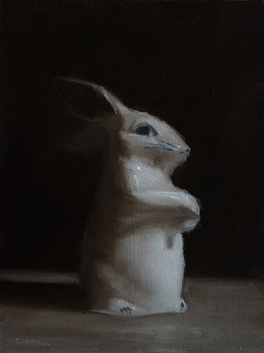 """Rabbit"" original fine art by Neil Carroll"