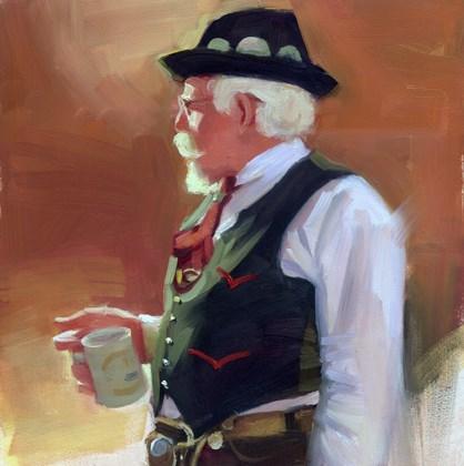 """Octoberfest"" original fine art by Kathy Weber"
