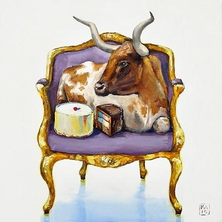 """beefcake"" original fine art by Kimberly Applegate"