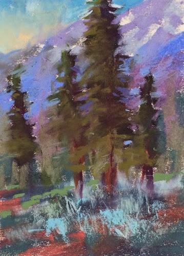 """""""Lake Tahoe Workshop day 2"""" original fine art by Karen Margulis"""