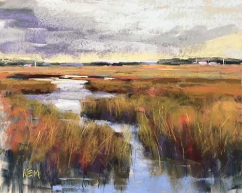 """Thanks Nebraska! Workshop Review"" original fine art by Karen Margulis"