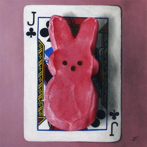 """Jackrabbit"" original fine art by Jelaine Faunce"