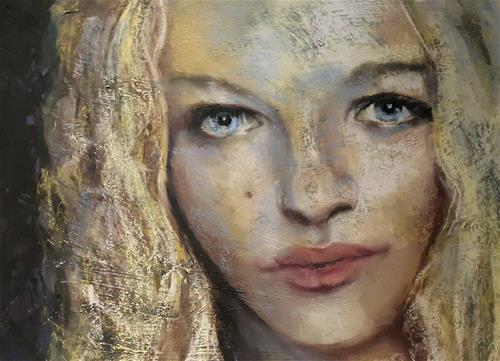 """Beauty spot"" original fine art by Rentia Coetzee"