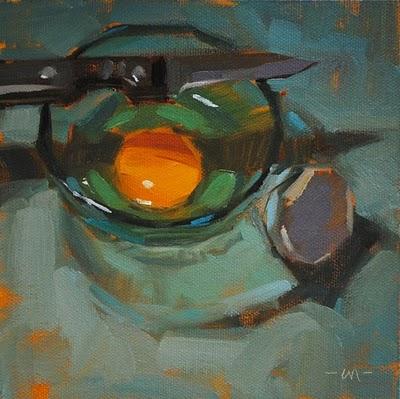 """Pressure From Above"" original fine art by Carol Marine"