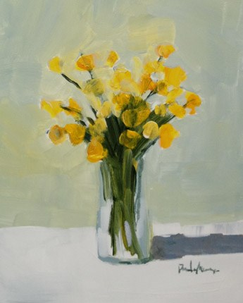 """""""sweet yellow"""" original fine art by Pamela Munger"""