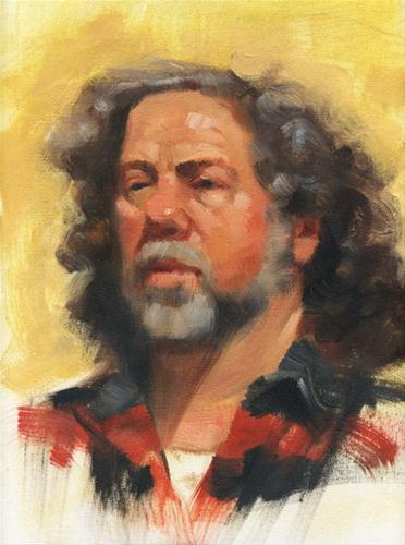 """Gerry"" original fine art by Kathy Weber"