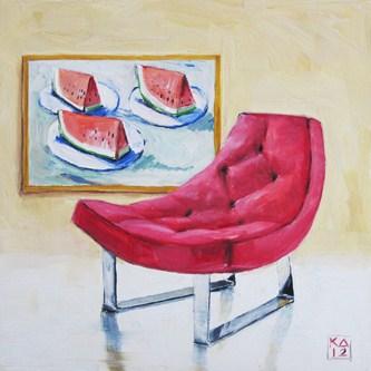"""sweet slice of summer"" original fine art by Kimberly Applegate"