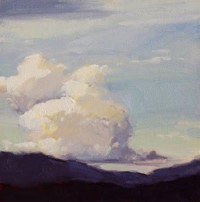 """Hovering"" original fine art by Laurel Daniel"