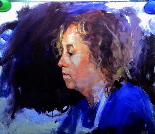 """Untitled"" original fine art by Richard Schiele"