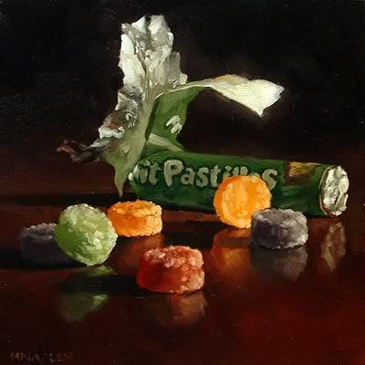 """""""Fruit Pastilles No.2"""" original fine art by Michael Naples"""
