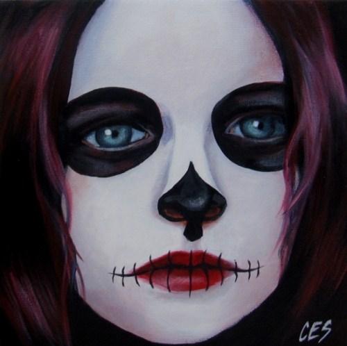 """""""Violet"""" original fine art by ~ces~ Christine E. S. Code"""