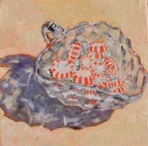 """Crystal Mints"" original fine art by Robert Frankis"