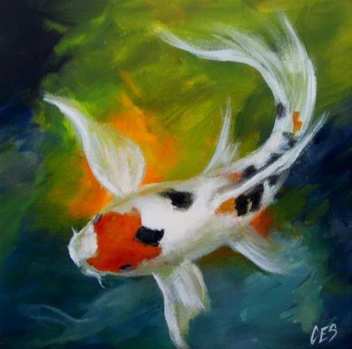"""Splash"" original fine art by ~ces~ Christine E. S. Code"