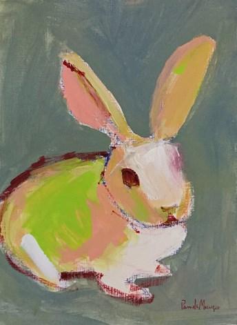 """""""Bunny"""" original fine art by Pamela Munger"""