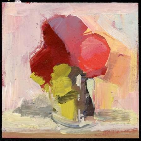 """2124 thistle"" original fine art by Lisa Daria"
