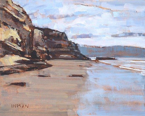 """Blacks Beach"" original fine art by Kevin Inman"