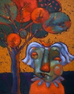 """FROM THE VAULT: Crybaby Mama"" original fine art by Brenda York"