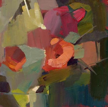 """""""1192 Wednesday"""" original fine art by Lisa Daria"""