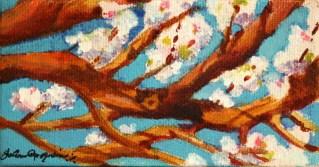 """""""Seasonal Pop"""" original fine art by JoAnne Perez Robinson"""