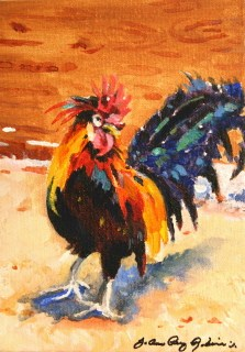 """That's what I'm talkin' About"" original fine art by JoAnne Perez Robinson"