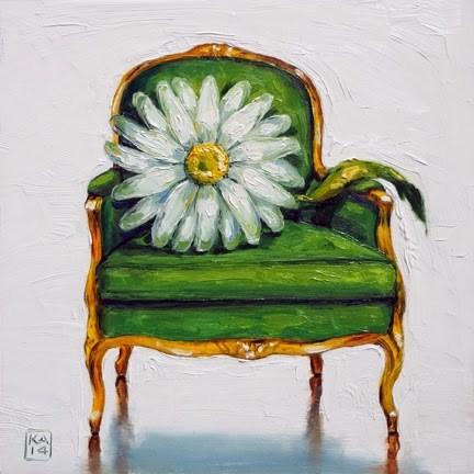 """keep on the sunny side"" original fine art by Kimberly Applegate"