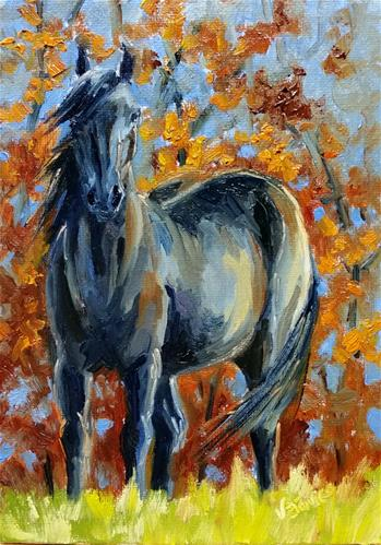 """Dixie Study"" original fine art by Veronica Brown"