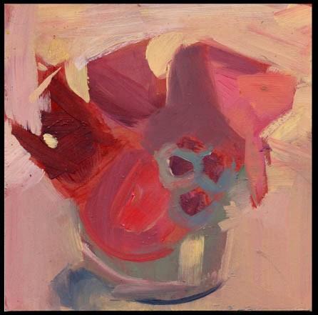 """2477 The Knob"" original fine art by Lisa Daria"