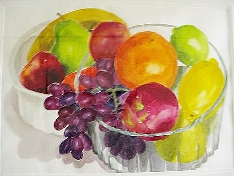 """Fruition"" original fine art by Priscilla Bohlen"