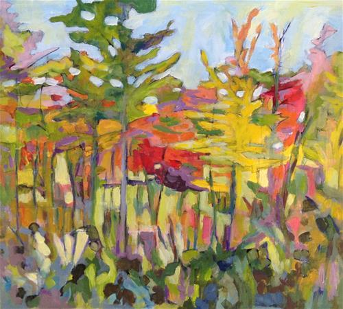 """Autumn Colours"" original fine art by Patricia MacDonald"