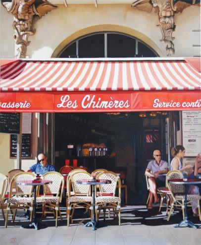 """Les Chimeres"" original fine art by Andre Beaulieu"