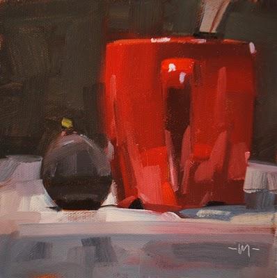 """""""Figtastic"""" original fine art by Carol Marine"""