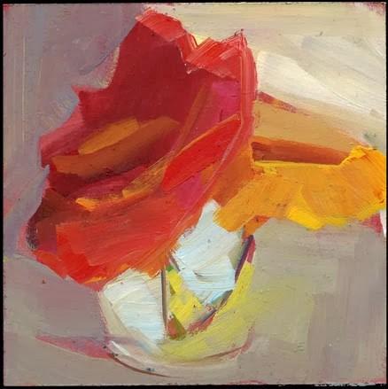 """""""1656 Platter"""" original fine art by Lisa Daria"""