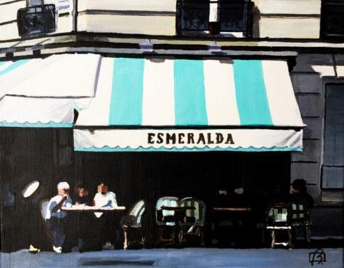 """Esmeralda"" original fine art by Andre Beaulieu"