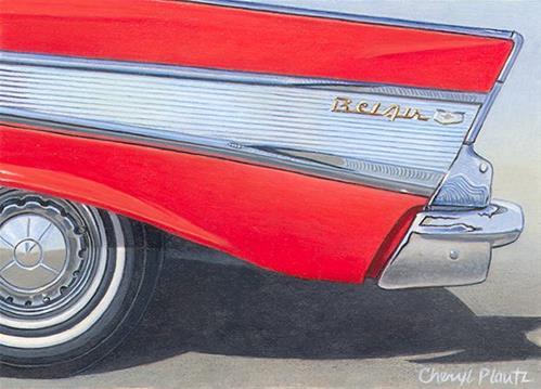 """""""Belair"""" original fine art by Cheryl Plautz"""