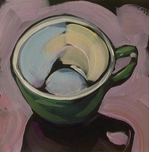 """The Depths"" original fine art by Kat Corrigan"