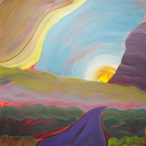 """""""Valley Storm 4"""" original fine art by Pam Van Londen"""