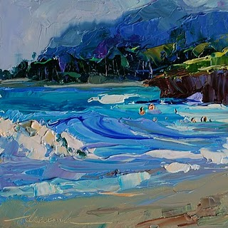 """""""North Shore Beauty, Oahu, Hawaii SOLD"""" original fine art by Dreama Tolle Perry"""