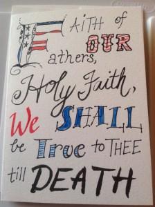 """Scripture Series Cards"" original fine art by Rachel  Holland"