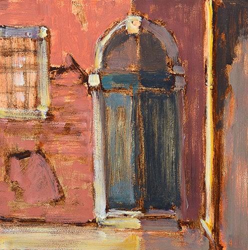 """Doorway in Venice"" original fine art by Kevin Inman"