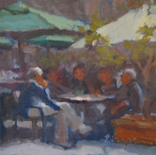 """Daily Break"" original fine art by Bruce Bingham"