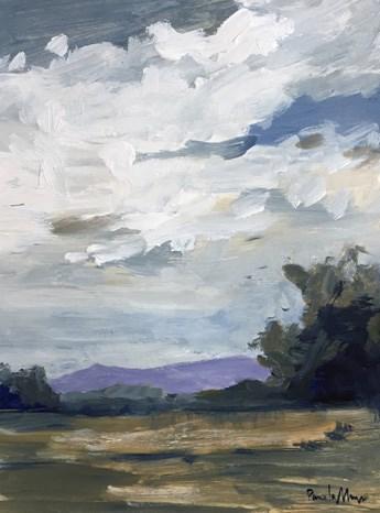 """""""end of summer IV"""" original fine art by Pamela Munger"""