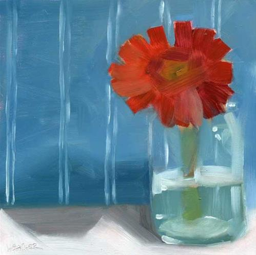 """Pinstripes"" original fine art by Heather Bennett"