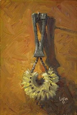 """""""Whatsit Brush"""" original fine art by Raymond Logan"""