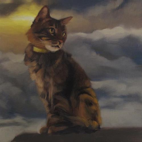 """Head in Clouds II"" original fine art by Diane Hoeptner"